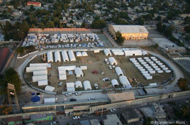 Valokuvaus, kenttäsairaala, Haiti