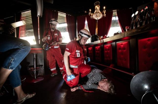 Dokumentaarinen valokuvaus, Suomen Punainen Risti, Ensiapu, valokuvaus