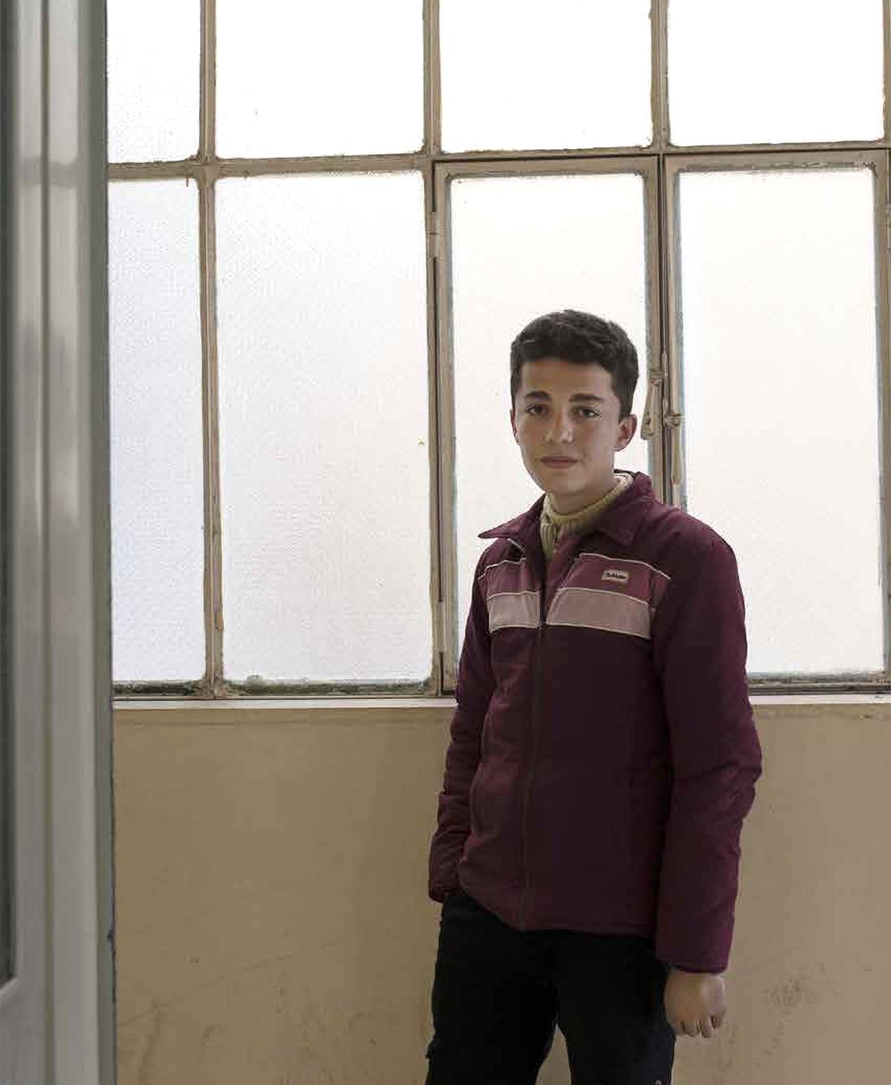 Amr Reslan menetti kätensä kranaatin räjähdyksessä, Syyrian sota